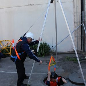 Confined Spaces Entry and Rescue
